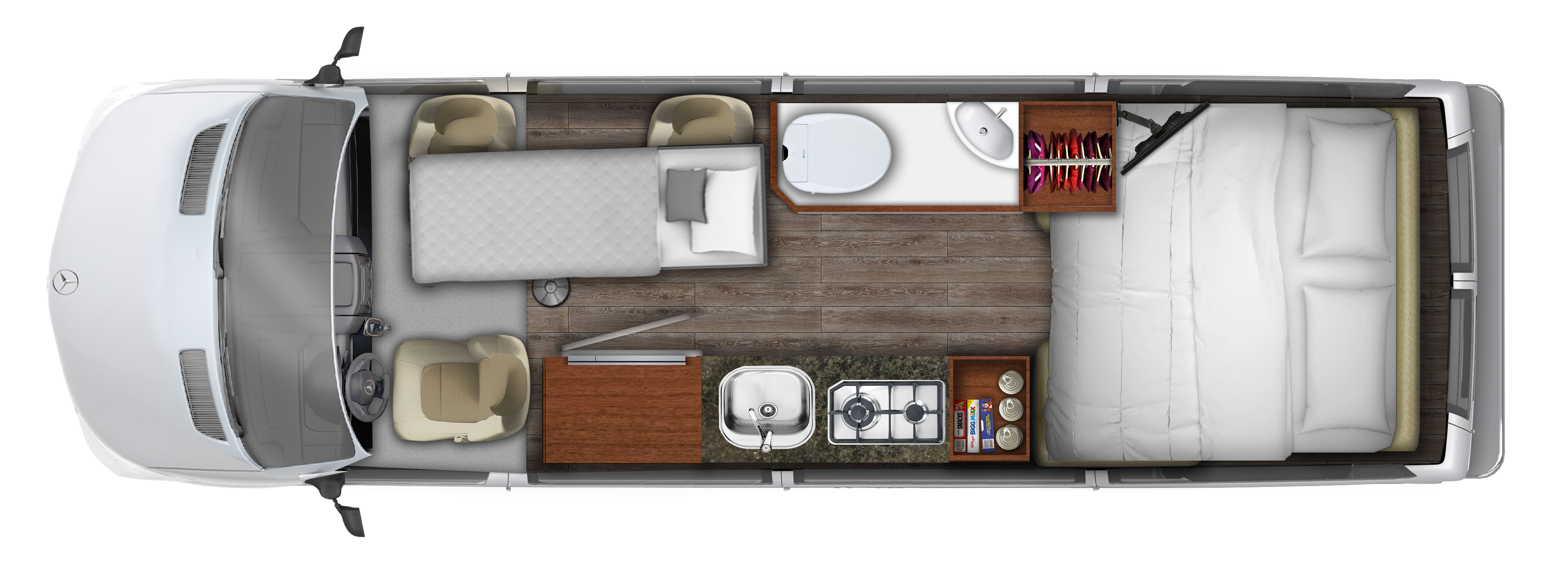 2018 RoadTrek Adventurous CS Floor Plan